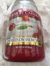 Yankee Candle cerezas en la nieve UK 🇬 🇧 grandes