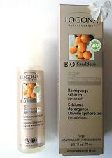 LOGONA Naturkosmetik Age Protection REINIGUNGSSCHAUM Bio Sanddorn 70 ml Vegan