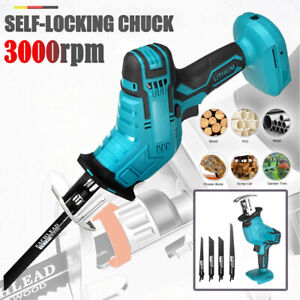 Cordless Electric Reciprocating Saw Saber Cutting For Makita 18V Power TOOL