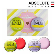 [ABSOLUTE NEW YORK] You're The Balm Duo Tinted Hydrating Lip Balm SET 2.4oz new