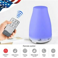 200ml Remote Control LED Ultrasonic Humidifier Essential Oil Aroma Diffuser