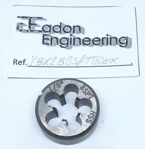 """3//4/"""" x 16TPI UNF Unified National Fine Button Die HSS."""
