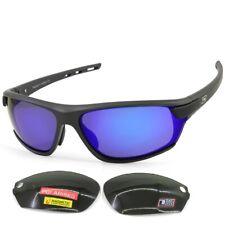 Dirty Dog Evolve X2 Polarised Sunglasses Grey/blue Fusion Mirror Green With SATI