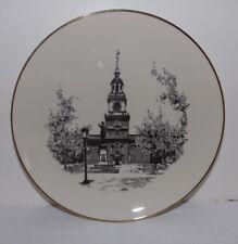"10 3/4"" Fred H Straub, Abington Pennsylvania Ridgewood China Commemorative Plate"