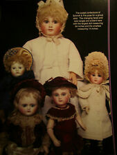 10pg Schmitt & Fils Doll History Article SWEET CONFECTIONS OF / Gula