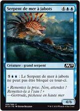 MTG Magic M19 - (x4) Frilled Sea Serpent/Serpent de mer à jabots, French/VF