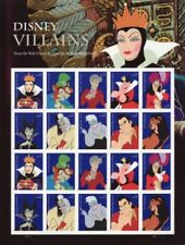 USA Stamps DISNEY VILLAINS S STAMP SHEET - USA #5213-5222 FOREVER 2017 FAST Ship