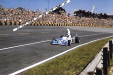 9x6 Photograph Jacques Laffite  Ligier-Matra JS5 , Brazilian GP  Interlagos 1976