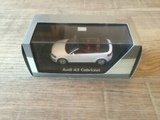 Minichamps 1/43 Audi A3 cabrio MY 2007 white dealer edition n°ZZQ5010803313