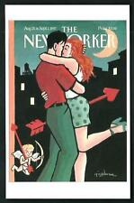 Art Spiegelman - Copertina per The New Yorker del 1997 - cartolina moderna