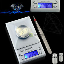 Portable 20g x 0.001g LCD Digital Gram Carat Diamond Jewelry Scale Weight Ct.gn