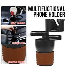 Multi-functional Car Cup Drink Water Holder Case Bottle Phone Glasses Storage UK
