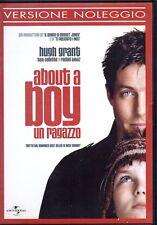 ABOUT A BOY - UN RAGAZZO - DVD (USATO EX RENTAL)