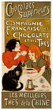 VINTAGE CHOCOLATE ART PRINT - Chocolat by Theophile Alexandre Steinlen Poster