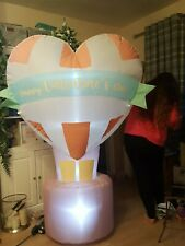 Happy Valentine's Day Light Up Inflatable