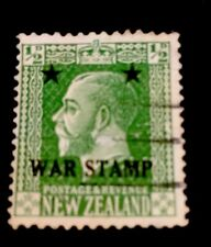 1915 King George V War Stamp New Zealand