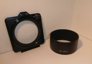 Authentic NIKON Gel Filter Holder AF-2 for 180/2.8, 300/4.5 72mm filter thread