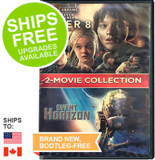 Super 8 / Event Horizon Double Feature (DVD, 2018) NEW,Sci-Fi,Space