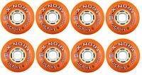 TronX Giga Asphalt 80mm Outdoor Inline Roller Hockey Wheels 8-pack