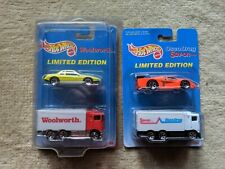 Hot Wheels - Mixed Lot of Advertising 2 Packs - Osco Drugs & Woolworths - 1996