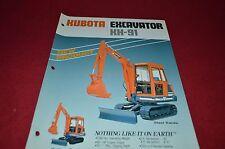 Kubota KH-91 Excavator Dealers Brochure DCPA2