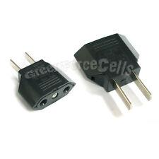 1 pc EU Euro Europe to US USA AC Power Plug Adaptor Adapter Travel Converter