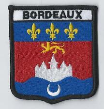 More details for bordeaux france franÇaise du pavillon du monde crest patch écusson brodé