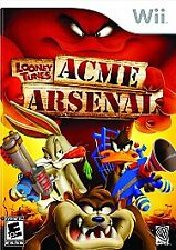 Looney Tunes: Acme Arsenal for Nintendo Wii Wii Action / Adventure (Video Game)