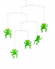 Flensted Happy Frogs Toads Modern Hanging Baby Mobile Nursery Decor Danish