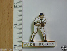 Wade Boggs Red Sox Baseball Player Pin Badge,Hat Tack, Lapel Pin , x-lg, Vintage