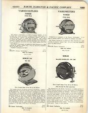 1923 PAPER AD Remler Pioneer Variometer Variocopler Bakelite Radio