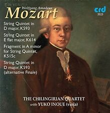 Mozart / Chilingiria - Mozart: String Quintets K.593 & K.614 [New CD]