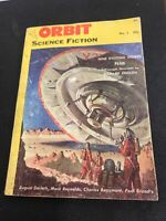 Orbit Science Fiction No 1 Vol 1 Early Pulp Magazine