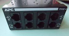 surge protector 4 channel APC P232 4 ProtectNet