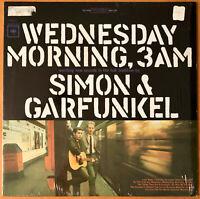 SIMON & GARFUNKEL Wednesday Morning 3AM  COLUMBIA 1964 LP SHRINK RARE NEAR MINT-
