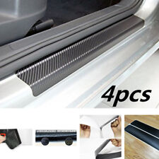 4pcs 3D Car door sill scuff cover welcome pedal Car Door Plate Pretect Sticker