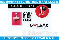 MyLaps Flex Subscription Renewal Card (1-year) for Car/Bike