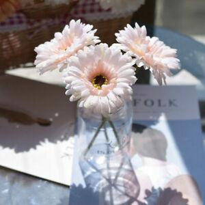 Single Silk Peony Chrysanthemum Artificial Fake Flower Bouquet Party Garden Deco