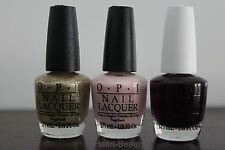 OPI NAIL POLISH - 3 Top Sellers Color Combination -  Mini size 3.75mL
