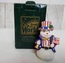 Roman Inc Galleria Lucchese 1997 Snowmen Around the World United States Snowman