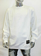 Men's G Unit White Crewneck Fleece