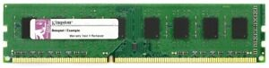 1GB Kingston DDR3 RAM PC3-8500U 1066MHz CL7 KTL-TCM58/1G Lenovo 45J5434 46R3322