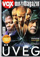 JAMES MC AVOY, BRUCE WILLIS,SYLVESTER STALLONE,RICARDO DARIN Hungarian magazine