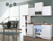 Cucina Singola Cucinino Blocco Incasso Mini 180 cm Bianco Respekta