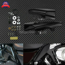 Motorcycle Mid-Frame Air Heat Deflectors Fit For Harley Touring Glide 2001-2008