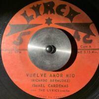 "PANAMA Latin Soul Ballad LYRICS COMBO Vuelve Amor Mio 7"" 45rpm VERY RARE Hear!!!"