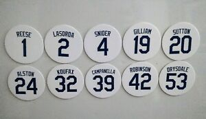 Los Angeles Dodgers Magnets - Koufax, Tommy Lasorda, Don Sutton, Don Drysdale