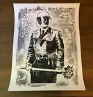 Shepard Fairey Obey Giant MY FLORIST IS A DICK Screen Print Art On Paper