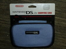 NINTENDO DS LITE OFFICIAL CONSOLE CARRY CASE BRAND NEW! Genuine Zip Holder Blue