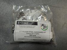 Cessna 182/182RG. Stainless Steel Hardware Kit. 565 Pcs. (Not 182T Models)